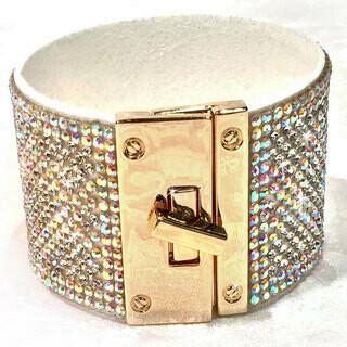 730-22-JKB256 JQ Iced Ombre cuffs bracelet R30