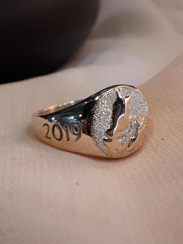 KDESIGN CUSTOM | Cape Breton School Ring Custom Designed by KDesign