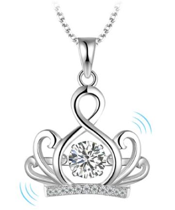 Twinkling Crown Necklace   LEGEND L238P