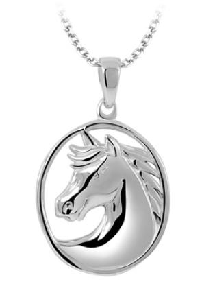 Horse Necklace | LEGEND L117P