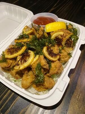Calamari Style Scallops