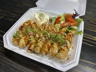 Garlic Sesame Shrimp Tempura