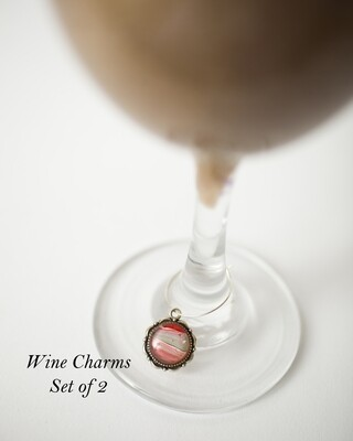 Wine Charms Set of 2