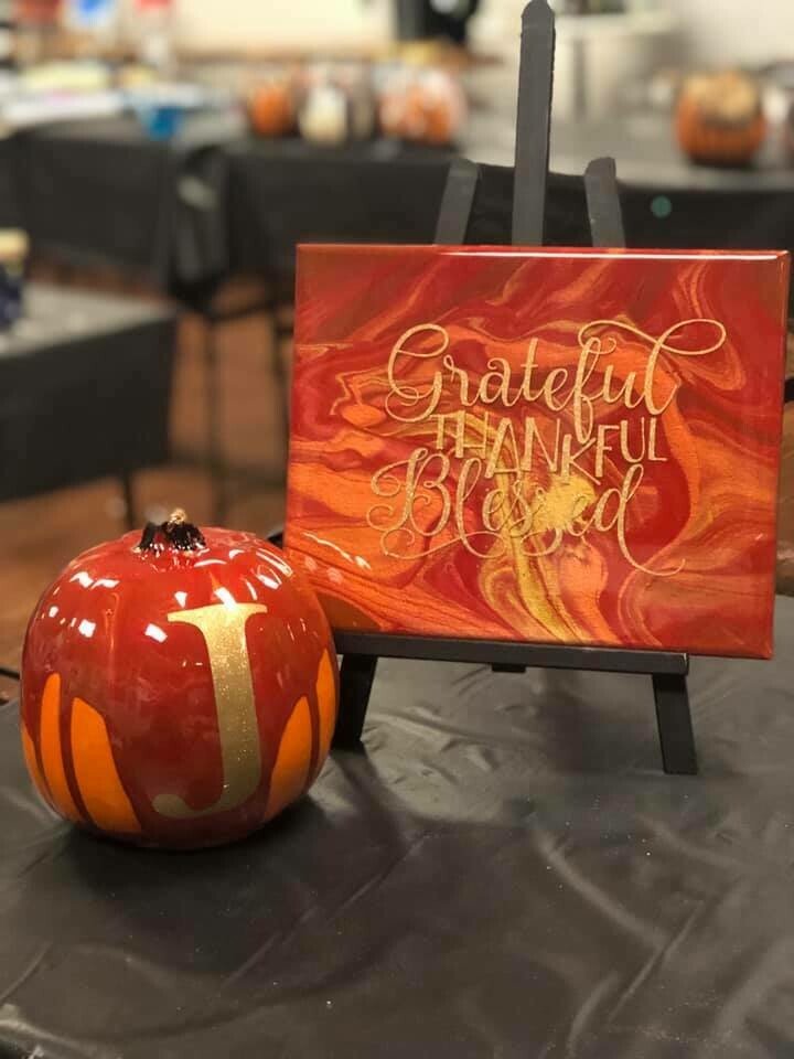 Pumpkin Resin and Words