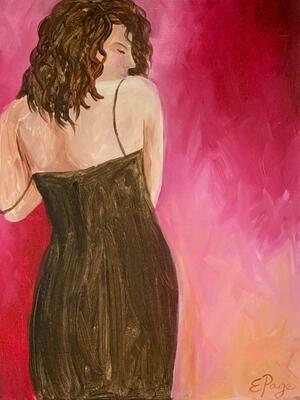 Kit de Pintura: Mia (Canvas Mediano 12x16)
