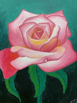 Kit de Pintura: Rose (Canvas Mediano 12x16)