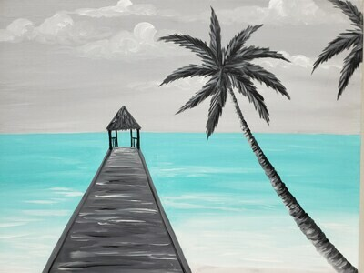 Kit de Pintura: Culebra (Canvas Mediano 12x16)