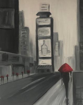 Kit de Pintura: Fog in the City (Canvas Mediano 12x16)