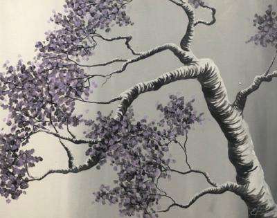 Kit de Pintura: Tree Blossoming (Canvas Mediano 12x16)