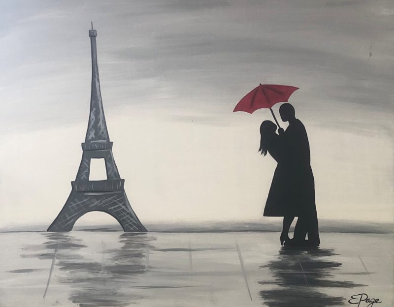 Kit de Pintura: Paris (Canvas Grande 16x20)