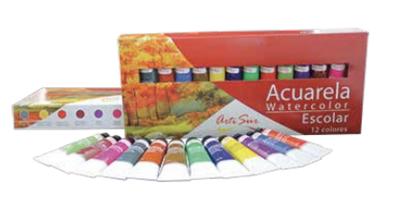Artisur Kit Acuarela Escolar