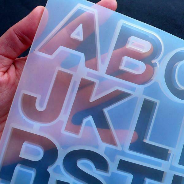 Molde Silicone: Letras y Números