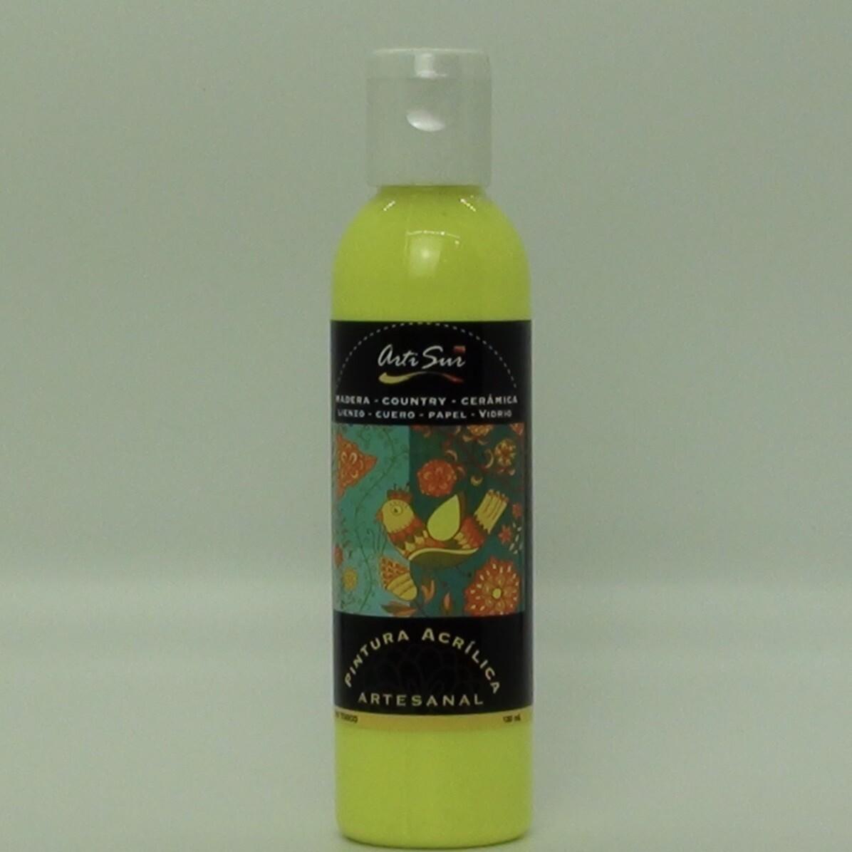 Artisur 120ml Flourecente Amarillo Limon