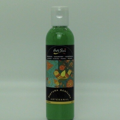 Artisur 120ml Verde Permanente