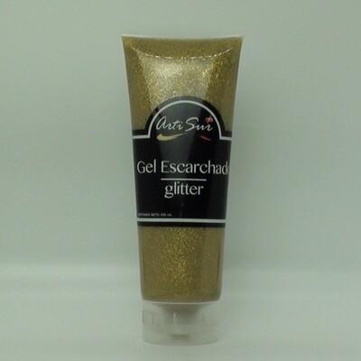 Artisur Gel Glitter 250ml Dorado Fino