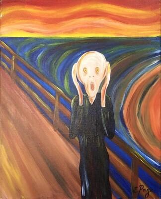 Kit de Pintura: Screams at the Dock (Canvas Mediano 12x16)