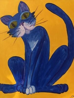 Kit de Pintura: Tomcat (Canvas Mediano 12x16)