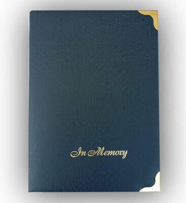 Memorial Register Book