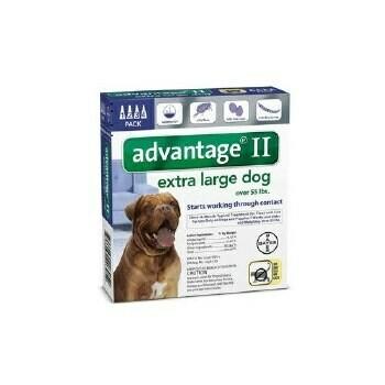 ADVANTAGE II DOG 56-100LB