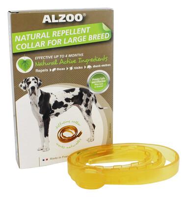 ALZOO DOG CLLR LG/XL