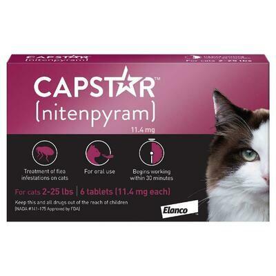 CAPSTAR TAB CAT 2-22 LB
