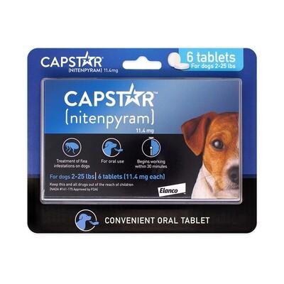 CAPSTAR TABS DOG 2-25LBS