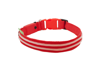 4id LED COLLAR RED SMALL