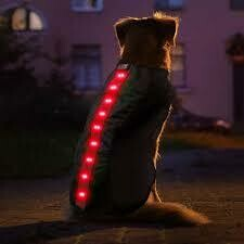 4id LED VEST RED SMALL