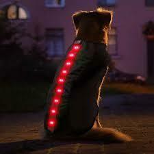 4id LED VEST RED LARGE