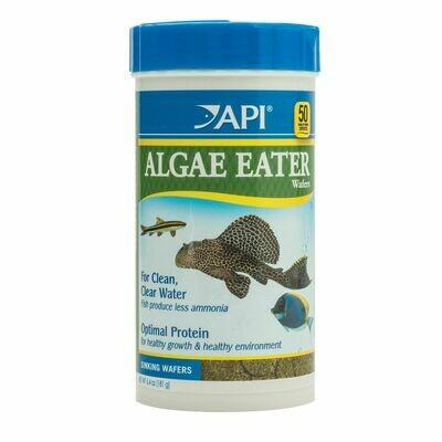 API Algae Eater Premium Algae Sinking Wafer Fish Food 6.4oz