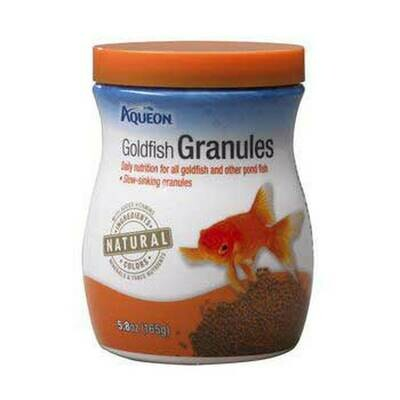Aqueon Goldfish Granules Fish Food 5.8oz Jar