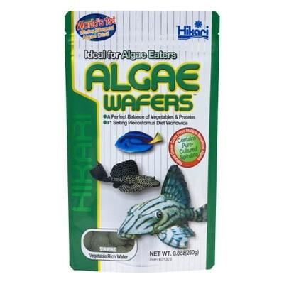 Hikari Algae Wafers Rapidly Sinking Wafer Fish Food 250gm