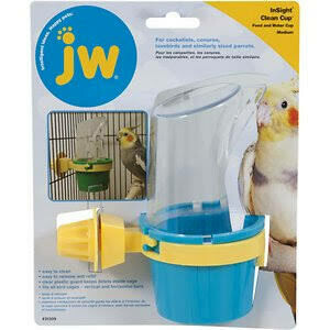JW Clean Cup Feeder and Water Cup Medium