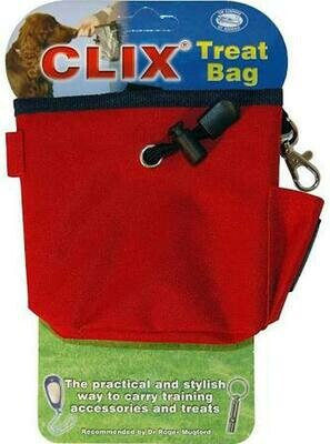 COASTAL CLIX TREAT BAG RED