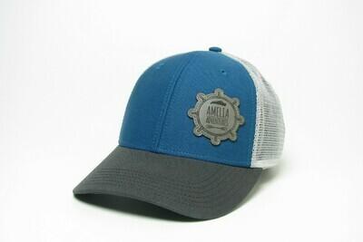 Mid-Pro Snapback Trucker Marine Blue/Dark Grey/Silver
