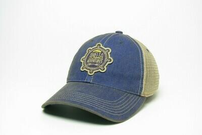 Old Favorite Adult Trucker Hat Blue