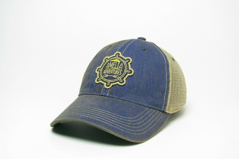 Old Favorite Youth Trucker Hat Blue