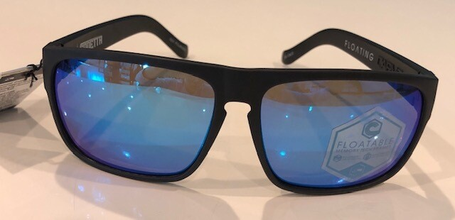VENDETTA Floatable Polarized Iridium Lens Matte Black
