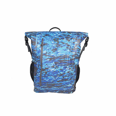 geckobrands Paddler 30L Waterproof Backpack -geckoflage