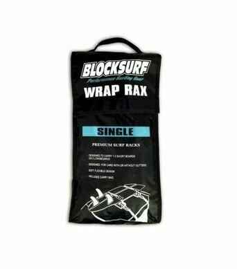 Blocksurf Wrap Rax Single Surfboard or SUP Rack