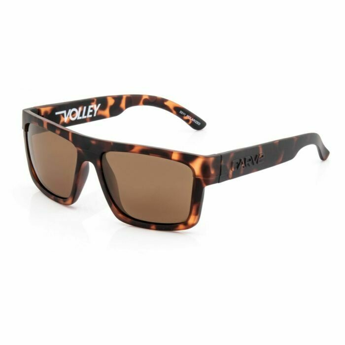 Carve Volley Floating Sunglasses - Matte Tort / Brown Polarized