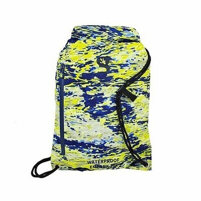 geckobrands Embark 10L Waterproof Drawstring Backpack - geckoflage