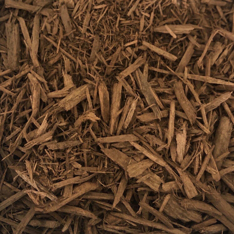 Gold Dyed Bark Mulch