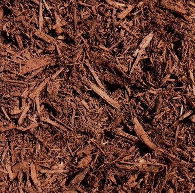 Cinnamon Dyed Bark Mulch - Bagged