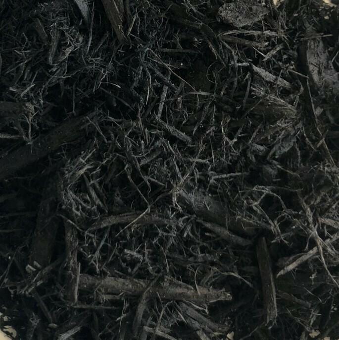 Black Dyed Bark Mulch - Bagged