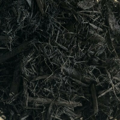 Black Dyed Bark Mulch - Bagged