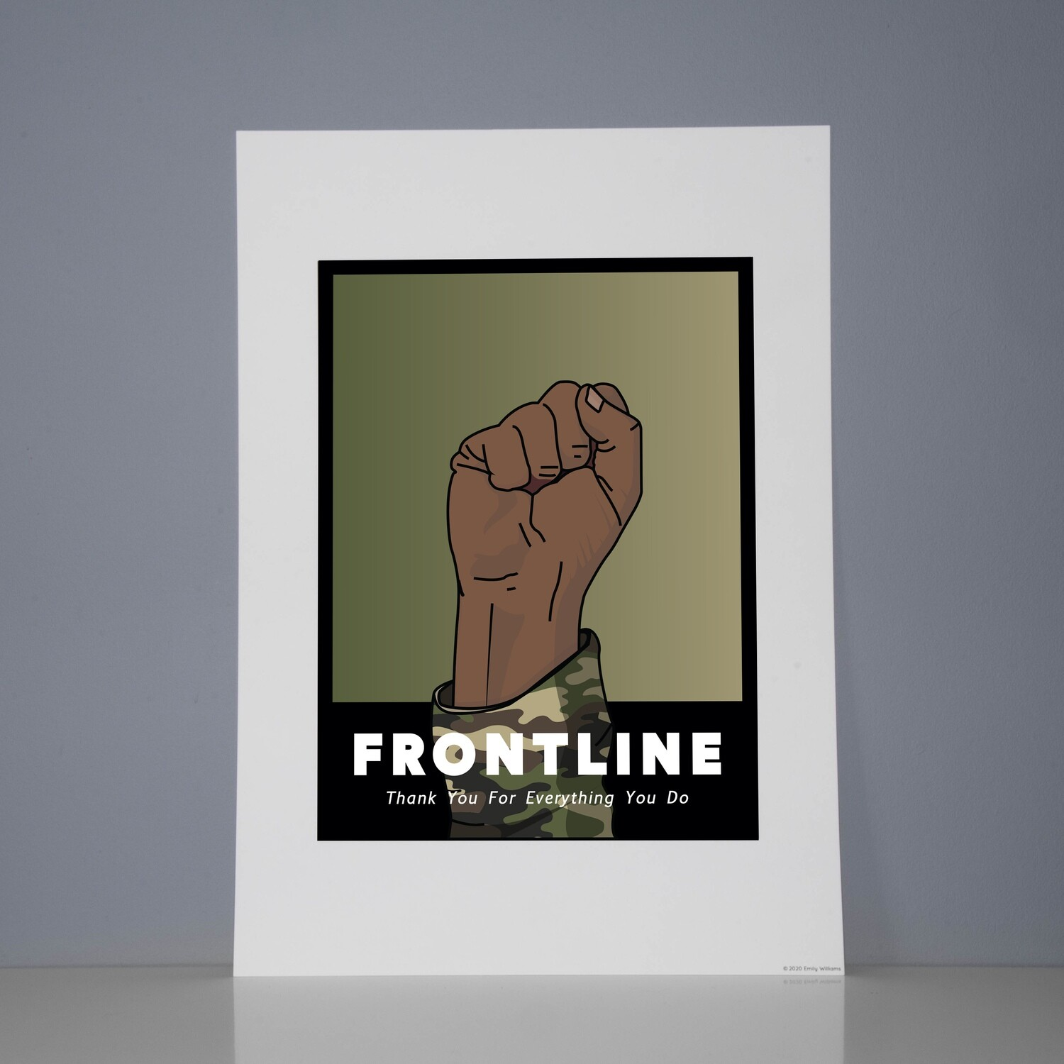 A3 Print The Armed Forces