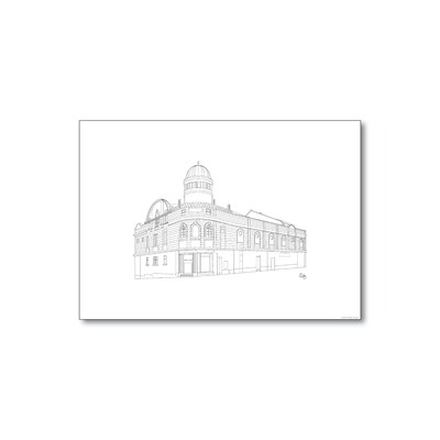 Picture House - Line Drawing