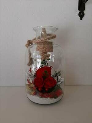 Rose stabilizzate in composizione di vetro
