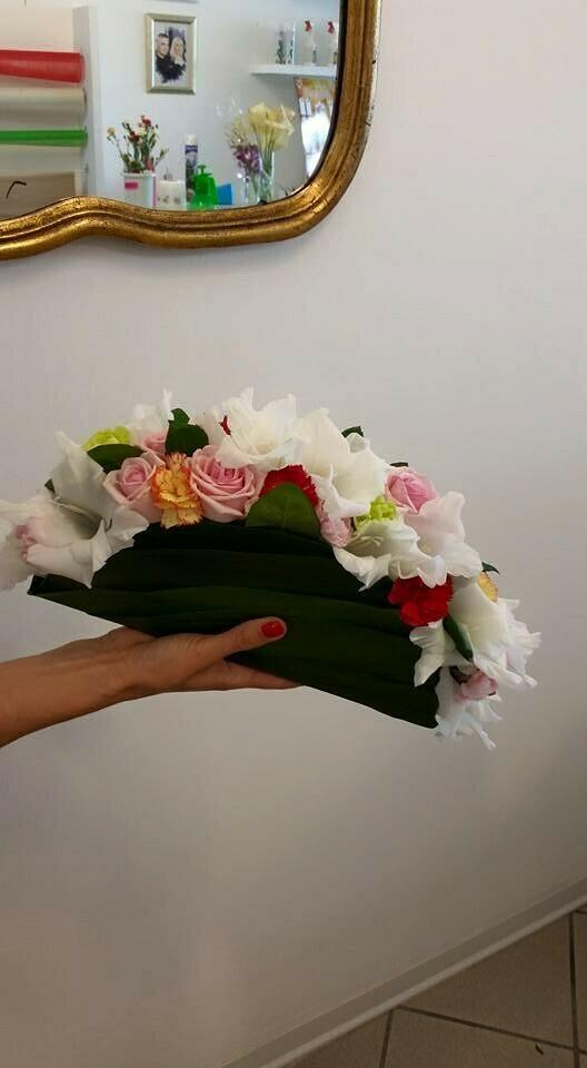 Bouquet Pochette o borsetta floreale